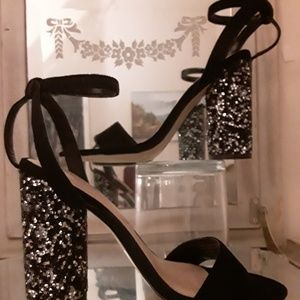 ALDO Gorgeous Crystal Rhinestone Heels
